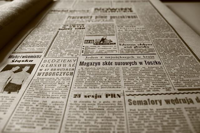 Skład i łamanie gazety - cennik